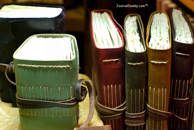 Photo by JournalDaddy.com --- Books by Iona Handcrafted Books