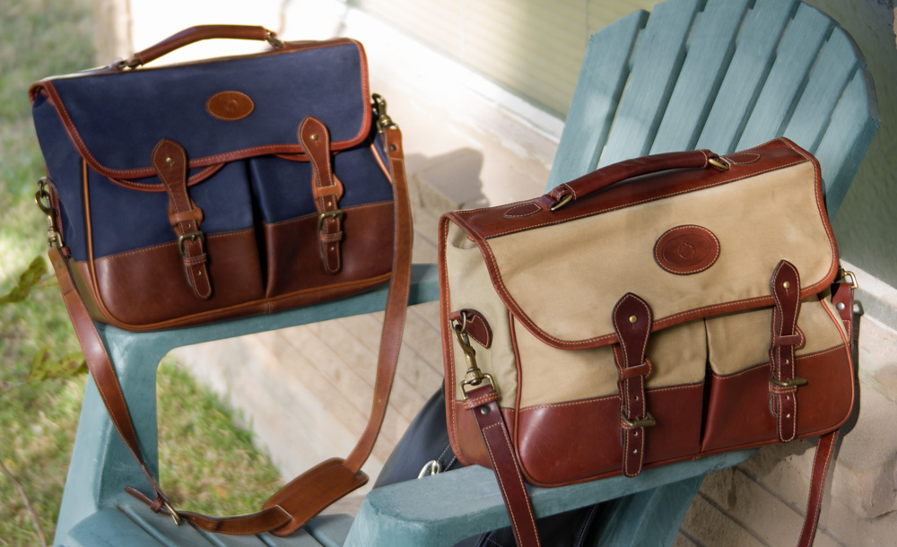 Tusting Clipper Business Satchel (Made in England)