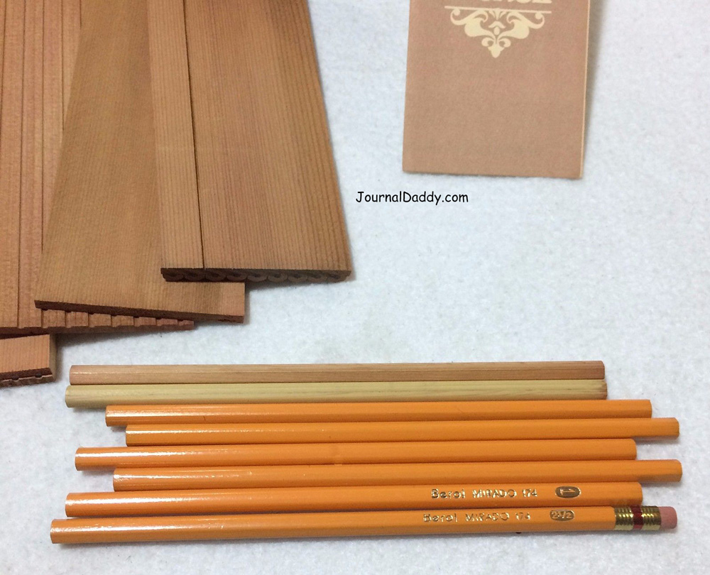 How a wood pencil is made 4