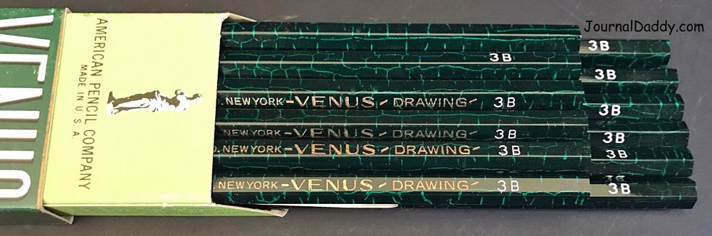 Venus American Pencil Co. Box 3B